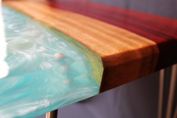 Resin Elements Side Table