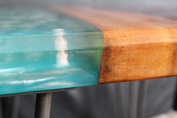 Resin River Side Table Elements