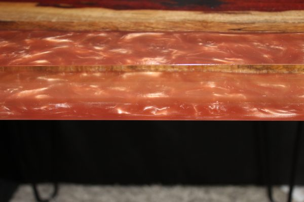 Rustic Rose Gold Side Table Bespoke